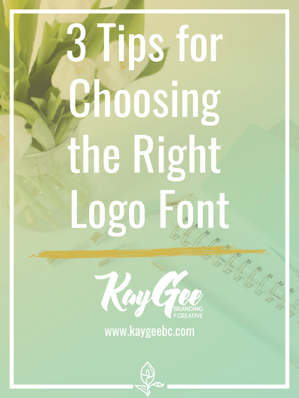 3 Tips for Choosing the Right Logo Font